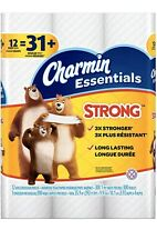 Charmin Essentials Strong 12 Giant Rolls =31 Regular Roll