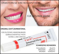 Zahn Set Notfallset Zahnfüllung provisorischer zahnersatz Prothese Füllmaterial