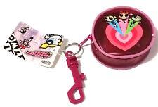 PowerPuff Girls Vinyl Coin Clip Purse, Purse Charm, Keychain Keyring