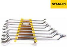 STANLEY Set of 8 Shallow Offset Ring Spanners/Wrenches , Sizes: 6x7 to 20x22,