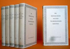 Orient Literatur Märchen Erzählungen aus Tausendundein Nächten 6 Bände Dünndruck