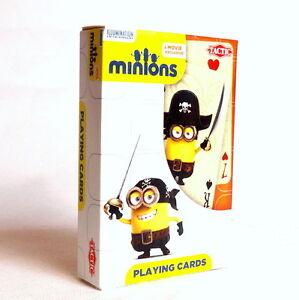 Minions - Playing Cards. Minionki Karty do gry dla dzieci i dorosłych.