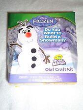 CRAYOLA MODEL MAGIC DISNEY FROZEN OLAF CRAFT KIT DO YOU WANT TO BUILD A SNOWMAN?