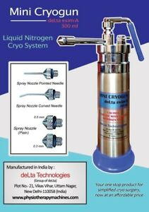 Premium Quality Mini Cryo Surgical Can-300 ML deLta Empty Cryo Can