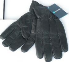 Mens black leather gloves - Tom Franks - in sizes M/L or L/XL