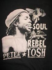 "PETER TOSH ""Soul Rebel"" Concert Tour (2XL) T-Shirt"