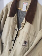 Disney Store Mickey Outdoors Mens XXL Winter Coat Jacket Brown Button Up Mickey