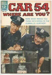 CAR 54, WHERE ARE YOU No. 6 Dell Aug. 1963 NM- File Copy TV SitCom Fred Gwynne