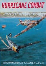 "192-Page PB Book:""HURRICANE COMBAT""(by Battle of Britain Pilot Wg Cdr MacKenzie)"