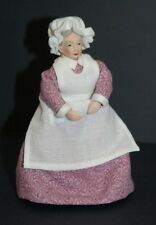Sweet 1/12th Scale Maid in Pink ~ Gorgeous Outfit Handcrafted By Esther Cairns!!