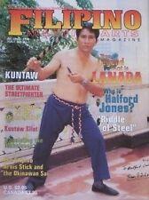 7/98 FILIPINO MARTIAL ART PERFERIO LANADA KUNTAW SILAT BLACK BELT KARATE KUNG FU