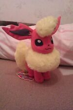 BEAUTIFUL Pokemon Takara Tomy Flareon Plush 2012 Brand New with Tags