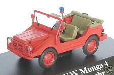 "wonderful modelcar DKW MUNGA 4 ""FEUERWEHR"" 1960 1:43"