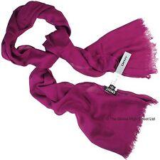 Dkny Bufanda-Purple ** Venta 35% De Descuento ** 176 X 51cm/69 X 20 Pulgadas 100% auténtico BNWT