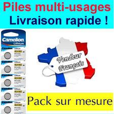 Piles/battery boutons lithium CR1632/2025/2016 Camelion , Livraison Gratuite