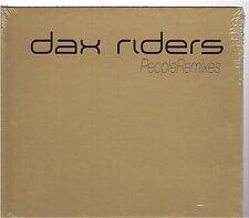DAX RIDERS people CD MAXI remixes digipack NEUF new neu