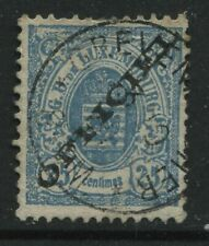 Luxembourg 1875 overprinted Official 25 centimes used
