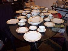 Vintage Grace Ogden Pattern Fine China Dinnerware Set 80 Pieces Made In Japan