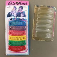 Color Mates vintage 1980s plastic fashion hair mini cascades new in open package