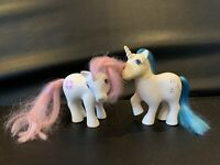 Vintage 1983 My Little Pony G1 Unicorn Pony Majesty & G1 Sundance MLP