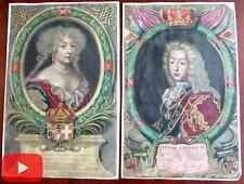 Victor Amadeus II King Sardinia Naples Marie Baptiste 1678 Nanteuil portraits