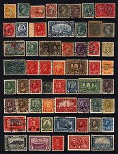 Canada #15-#273 1859-1946 19th & 20th Century Lot M&U 56 items