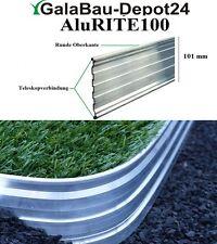 AluRITE100 Randbefestigung Rasenkante Rasenbegrenzung Mähkante Beeteinfassung