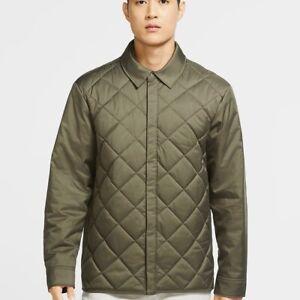 Nike Repel Men's Synthetic-Fill Golf Jacket Olive Green CK6072-222 Men's Size XL