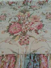 Ralph Lauren GUINEVERE Aragon Medieval Standard Floral Ruffled Sham Zipper