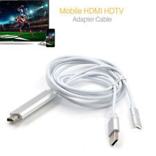 HDMI Cable HDTV Adapter for iPhone IPAD IOS Android Samsung S2 S3 S4 to TV