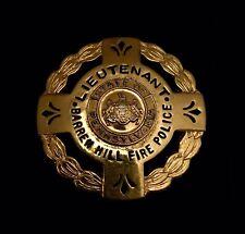 Barren Lafayette Pa Fireman Fire Department Badge Cairns Helmet Eagle Braxmar
