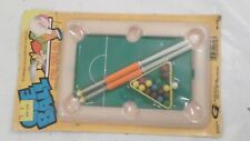 NOS Vintage 1976 Cue Ball Mini Kids Pool Table Set by Gordy International