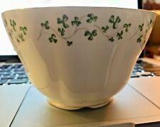 Royal Tara Fine Bone China Irish Shamrock Open Sugar Bowl Galway Ireland