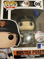 Funko Pop! MLB Buster Posey #9 (San Francisco Giants) Away Jersey Series 2 NIB