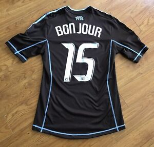 2012 MLS Vancouver Whitecaps Martin Bonjour Signed Game Match Worn Soccer Jersey