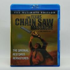 The Texas Chainsaw Massacre (1974) Like New Ultimate Edition Blu-ray Rare Oop