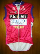 Alexa Cycling Jersey Shirt Sleveless Fleecy lined JACKET KAGOOL size 4 S 36/38