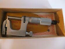 Starrett 0 1 Inch Multi Anvil Micrometer No 220 Arl 1with Box