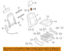 MAZDA OEM 13-15 CX-5 2nd Row Back Rear Seat-Headrest Head Rest Guide KD45881G934