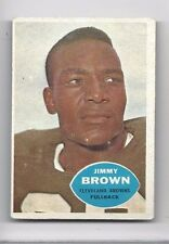 1960 Topps Football Card #23 Jimmy Jim Brown, Cleveland Browns EX-