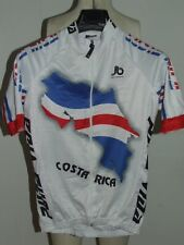 Bike Cycling Jersey Maillot Shirt Cyclism Sport Costa Rica Size S
