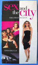 NEW! SEALED! Kim Cattrall SEX AND THE CITY The First Season Episodes 5 - 8 VHS