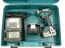 NEW MAKITA 18V CORDLESS DTD152 IMPACT DRIVER KIT WITH BATTERIES/CHARGER