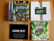 Nintendo Game Boy Advance  Pokemon Smaragd Edition OVP