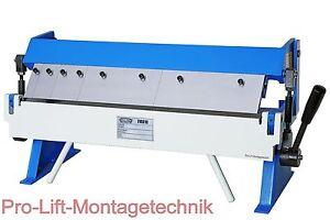 Abkantmaschine Abkantbank Blechbiegemaschine Abkantpresse 610 mm FM010J 01953