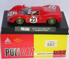 POLICAR CAR06A FERRARI 330 P4 #21 2º LE MANS 1967 L.SCARFIOTTI-M.PARKES