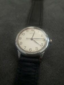 Vintage Rotary Mens Wrist Watch 1950s Swiss 15 Jewels, CAL 760, Serviced.