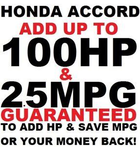 HONDA ACCORD EX LX SPORT Best Tuner Performance Race Chip 1996-2020 ADD POWER