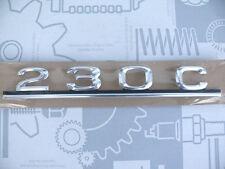 Original Mercedes Schriftzug / Typbezeichnung / Typkennzeichen W123 230C NEU!