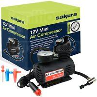 Heavy Duty Powerful 12V Electric Car Tyre Inflator Air Compressor Pump